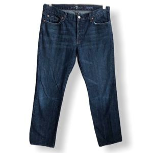 7 For All Mankind Mens Standard Button Fly…